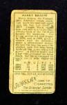 1911 T205  Harry Krause  Back Thumbnail