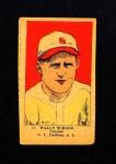 1923 W515-1 #17  Wally Schang  Front Thumbnail