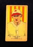 1923 W515-1 #20  Carl Mays  Front Thumbnail