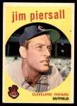 1959 Topps #355  Jimmy Piersall  Front Thumbnail