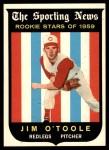 1959 Topps #136  Jim O'Toole  Front Thumbnail