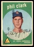 1959 Topps #454  Phil Clark  Front Thumbnail