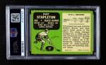 1970 Topps #17  Pat Stapleton  Back Thumbnail