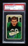 1952 Bowman Small #10  Chuck Bednarik  Front Thumbnail