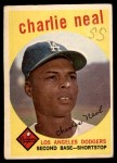 1959 Topps #427  Charlie Neal  Front Thumbnail