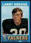 1971 Topps #12  Larry Krause  Front Thumbnail