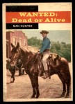 1958 Topps TV Westerns #25   Man Hunter  Front Thumbnail