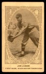 1922 E120 American Caramel  Joe Judge  Front Thumbnail