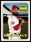 2018 Topps Heritage #585  Brian Goodwin  Front Thumbnail