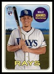 2018 Topps Heritage #643  Willy Adames  Front Thumbnail