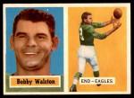 1957 Topps #61  Bob Walston  Front Thumbnail