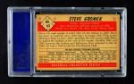 1953 Bowman B&W #63  Steve Gromek  Back Thumbnail