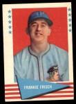 1961 Fleer #30  Frankie Frisch   Front Thumbnail