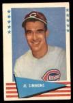1961 Fleer #77  Al Simmons  Front Thumbnail
