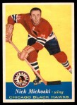 1957 Topps #32  Nick Mickoski  Front Thumbnail