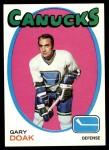 1971 Topps #87  Gary Doak  Front Thumbnail