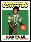 1971 Topps #40  Bob Rule  Front Thumbnail