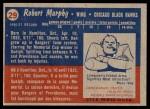 1957 Topps #29  Ron Murphy  Back Thumbnail