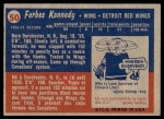 1957 Topps #50  Forbes Kennedy  Back Thumbnail