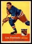 1957 Topps #64  Lou Fontinato  Front Thumbnail