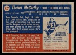 1957 Topps #37  Tom McCarthy  Back Thumbnail