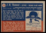 1957 Topps #23  Jim Thomson  Back Thumbnail