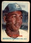 1957 Topps #115  Jim Gilliam  Front Thumbnail