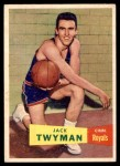 1957 Topps #71  Jack Twyman  Front Thumbnail