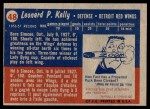 1957 Topps #48  Red Kelly  Back Thumbnail