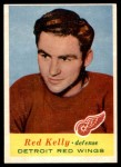 1957 Topps #48  Red Kelly  Front Thumbnail