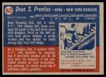 1957 Topps #62  Dean Prentice  Back Thumbnail