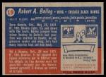 1957 Topps #19  Bob Bailey  Back Thumbnail