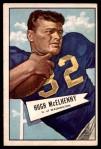 1952 Bowman Large #29  Hugh McElhenny  Front Thumbnail