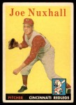 1958 Topps #63  Joe Nuxhall  Front Thumbnail