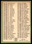 1967 Topps #191 DIC  -  Willie Mays Checklist 3 Back Thumbnail