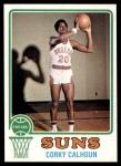 1973 Topps #166  Corky Calhoun  Front Thumbnail