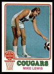 1973 Topps #219  Mike Lewis  Front Thumbnail