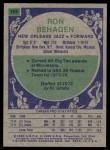 1975 Topps #106  Ron Behagen  Back Thumbnail
