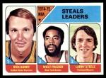 1975 Topps #6   -  Rick Barry / Larry Steele / Walt Frazier NBA Steals Leaders Front Thumbnail