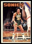 1975 Topps #41  Fred Brown  Front Thumbnail