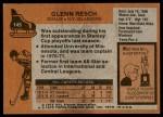 1975 Topps #145  Glenn Resch   Back Thumbnail