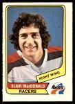 1976 O-Pee-Chee WHA #93  Blair MacDonald  Front Thumbnail
