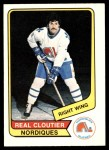 1976 O-Pee-Chee WHA #76  Real Cloutier  Front Thumbnail
