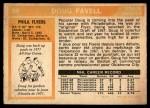 1972 O-Pee-Chee #89  Doug Favell  Back Thumbnail