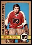 1972 O-Pee-Chee #89  Doug Favell  Front Thumbnail