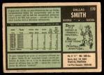 1971 O-Pee-Chee #170  Dallas Smith  Back Thumbnail