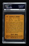 1940 Play Ball #183  Marvin Breuer  Back Thumbnail