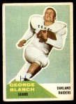 1960 Fleer #9  George Blanch  Front Thumbnail