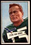 1952 Bowman Large #45  Steve Van Buren  Front Thumbnail