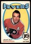 1971 O-Pee-Chee #204  Jean-Guy Gendron  Front Thumbnail
